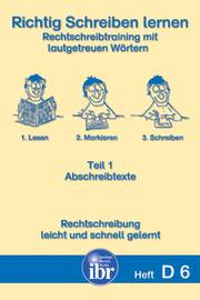 Verlag Ibr Lern Und Fördermaterialien Schreibenlesen D6